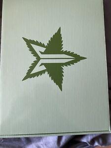 JEFFREE STAR MIRROR -  Green Leaf Hand Mirror 4/20 Weed Mirror IN HAND!!!!!