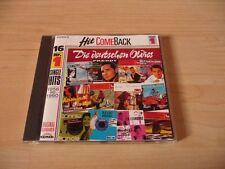 CD Hit Comeback Die Deutschen Oldies 1956 - 1960: Margot Eskens Freddy Quinn Ted