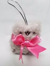 Gund PUSHEEN Stormy Cat with Pink Bow Plush Christmas Ornament Series 2
