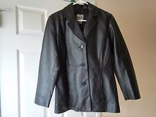 SHAVER LAKE Women's Leather Jacket Size PS