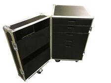 Ultrasonics Production Flight Case Drawer Unit 5 Drawers Heavy Duty Tour Grade