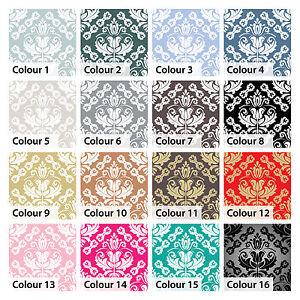 Vintage Tile Stickers Transfers Damask Kitchen Bathroom 150mm & 100mm sizes - D1