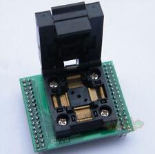 Flap QFP64 TQFP64 PQFP64 0.5mm Universal IC Test Socket Adapter Programmer