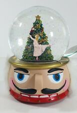 Holiday Water Snow Globe Christmas Tree Dancer with Nutcracker Base by Ashland®