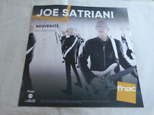 JOE SATRIANI - WHAT HAPPENS NEXT !!!PLV 30 X 30 CM !! PAPER DISPLAY