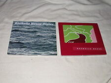 LOT of ROCHELLE HOUSE Water+Dreams of Love CD's NEW Private Vocal Jazz Seattle