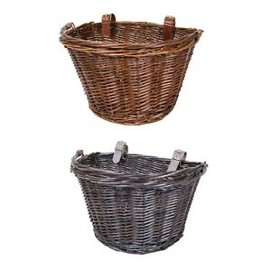 Wicker Bike Bicycle Basket Shopping Basket Cycle Shopping With Handle