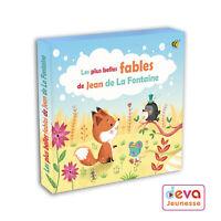 Les fables de La Fontaine (CD 20 Fables + Livret)