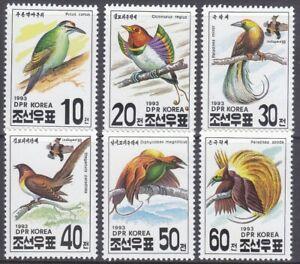 Korea (N) - 1993 - MNH - (3427-3432) Birds