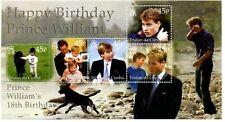 Tristan da Cunha 2000 18th Birthday Prince William m/s MNH