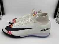 Nike Superfly 6 Elite Indoor Soccer Pure Platinum CR7 AJ3571 009 Mens Size 11