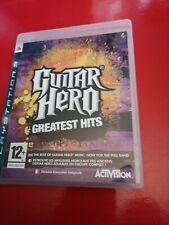 Guitar Hero Greatest Hits (PS3) (MBC) Con Manual