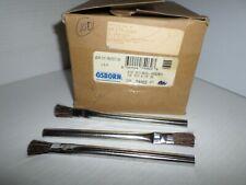 "*New In Box* 100 pc Osborn 74062 Tin Ferrule Acid Brush 9/16"" Horsehair"