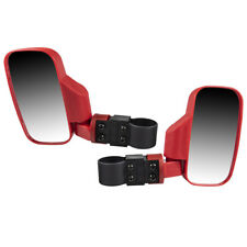 Red Side View Mirror Set 1998-2019 Polaris Ranger RZR XP Crew 570 800 900 1000