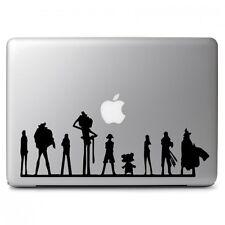 One Piece Team for Macbook Air Pro Laptop Car Window Bumper Vinyl Decal Sticker