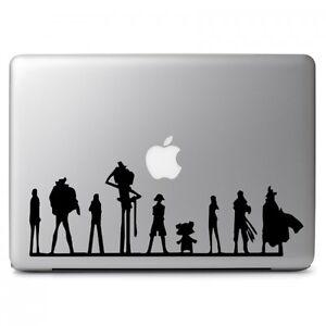 One Piece Team Vinyl Decal Sticker for Macbook Air Pro Laptop Car Window Bumper