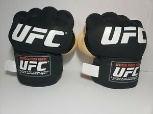 UFC Plush Fight Gloves Fists Pair Adult Collectible Jakks Pacific 2010