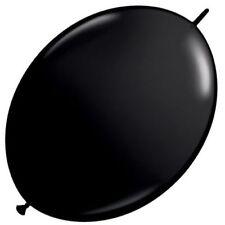 Globos de fiesta color principal negro ovalada
