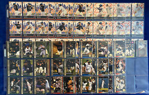 2000 Topps Subway Series Yankees, Mets Complete 100 Card Set W/ One Token