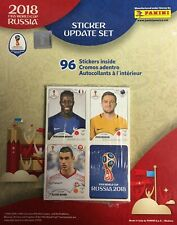 2018 Panini FIFA World Cup Russia Update set series of 96 Stickers !!