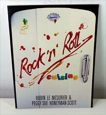 "Rock & Pop Stars KOCHBUCH ""Rock 'n' Roll Cuisine"" Mesurier & Honeyman-Scott UK"