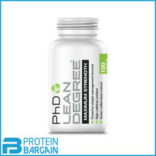 PhD Nutrition Lean Degree 100 Capsules Thermogenic Fat Burner  Fast Free P&P