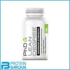 PhD Nutrition Lean Degree Maximum Strength 100 Caps Strong Fat Burner UK Stock