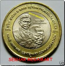 India 10 Rupees MAHATMA GANDHI Mumbai Mint UNC Coin 1PCS
