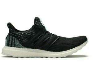 adidas UltraBOOST 4.0 Parley Mens Running Shoe (Size 8 - 10) Black White F36190