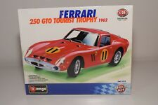 V 1:24 BBURAGO BURAGO 5510 FERRARI 250 GTO TOURIST TROPHY 1962 SEALED MINT BOXED
