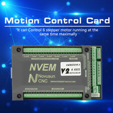 NVEM CNC Controller 6 Axis MACH3 Ethernet Interface Motion Control Card Board GL