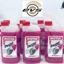6 Litri MOTUL INUGEL G13 ULTRA Liquido Refrigerante Antigelo Radiatore Rosa VW