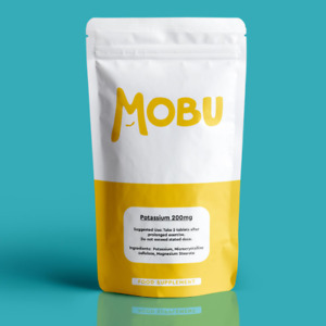 Potassium 200mg - 120 Tablets Iodine Blood Pressure Muscle Nerves - Vegan