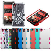 For HTC Desire 626 / 626s / 530 Anti-Shock Case Hybrid Full Body Cover