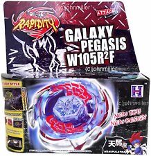 Galaxy Pegasus / Pegasis Metal Fury Beyblade Set NIP + Launcher - USA SELLER!