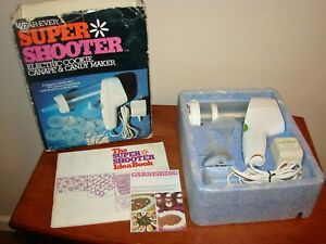 VTG Wear-Ever SUPER SHOOTER Electric Cookie Candy Maker 70001 Complete w/ Box