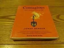 NEW - Jonah Berger - CONTAGIOUS Why Things Catch on - UNABRIDGED - CD AUDIO BOOK