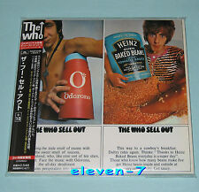 THE WHO Sell out JAPAN mini LP CD +10 REMASTERED POCP-9195