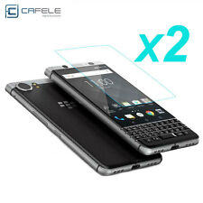 2Pcs Real 9H HD 2.5D Tempered Glass Film Screen Protector For Blackberry KEYone