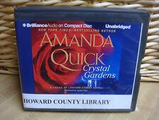 CRYSTAL GARDENS Lantern Street #1 by Amanda Quick (2012, CD, Unabridged)