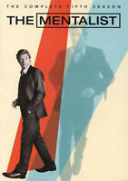 The Mentalist: The Complete Fifth Season (Season 5) (5 Disc) DVD NEW