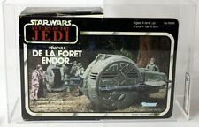 Vintage Star Wars Boxed ROTJ Mini-Rig Canada Endor Forest Ranger AFA 80+  #11620