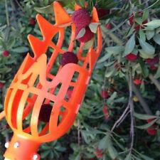 New Orange Plastic Fruit Picker/ Practical Gardening Picking Tool Fruits Catcher