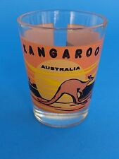 SHOT Booze Liquor GLASS ~*~ AUSTRALIA Kangaroo ~*~ 100s More Gift Ideas in STORE