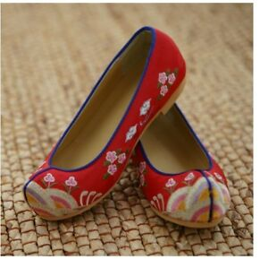 Flower Shoes Hanbok Accessory Korean Traditional New Year Birth Party Baby Girl