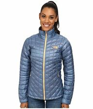 The North Face ThermoBall™ Full Zip Womens Jacket Cool Blue Size M New