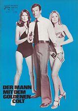 NFK: 126: Mann mit den goldenem Colt, ( James Bond 007 ) Roger Moore, ( blau )