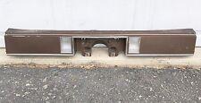 80-85 Delta 88 License Plate Trunk Lid Panel Filler Rear Reverse Backup Light