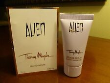 ALIEN  MUGLER RADIANT  SHOWER GEL 30 ml .&  SPRAY SAMPLE SIZE 1.5 ml   * DUO *