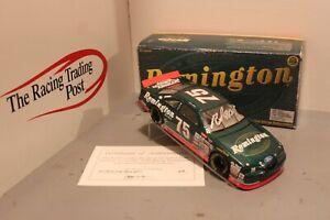 1997 Rick Mast Remington Ford Thunderbird 1/24 Action NASCAR Diecast Autographed